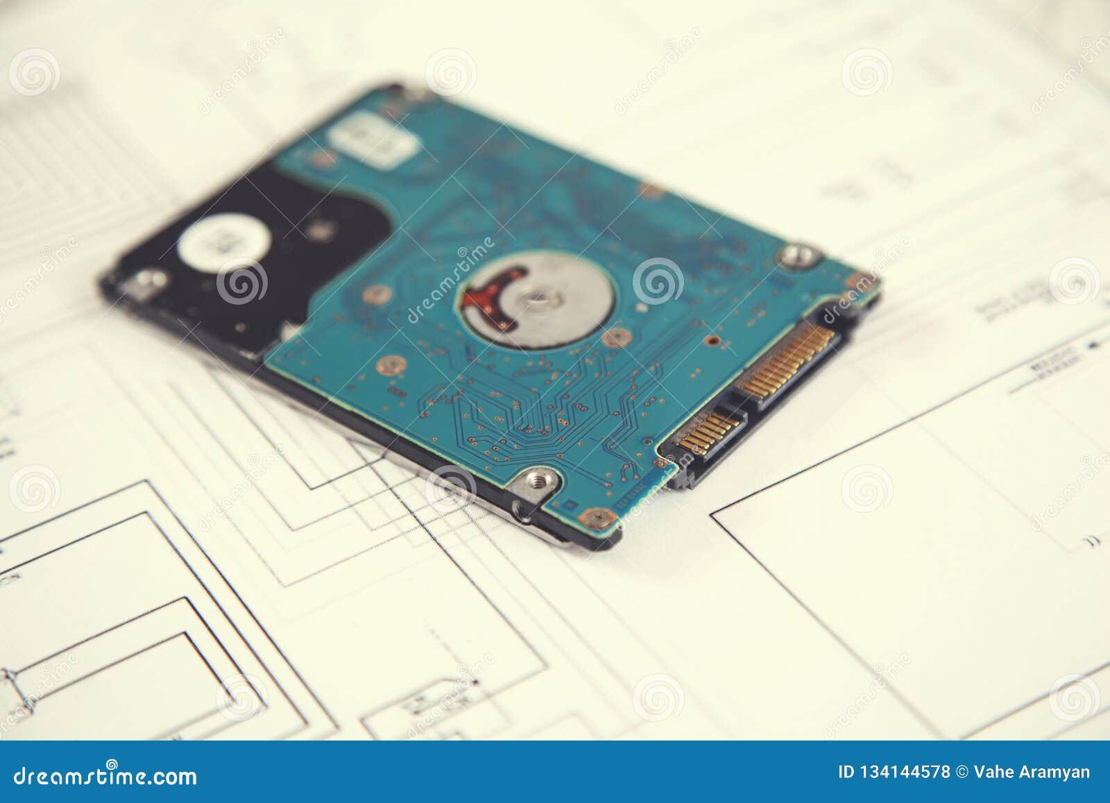 HDD sur le papier