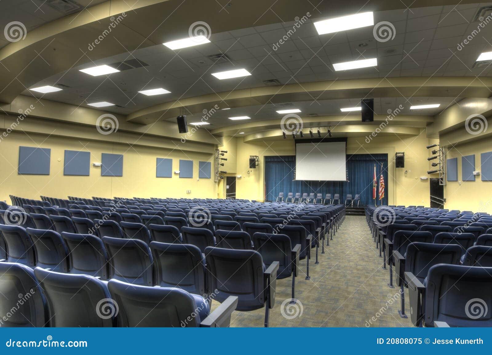 HDR Of Auditorium Royalty Free Stock Photo - Image: 20808075