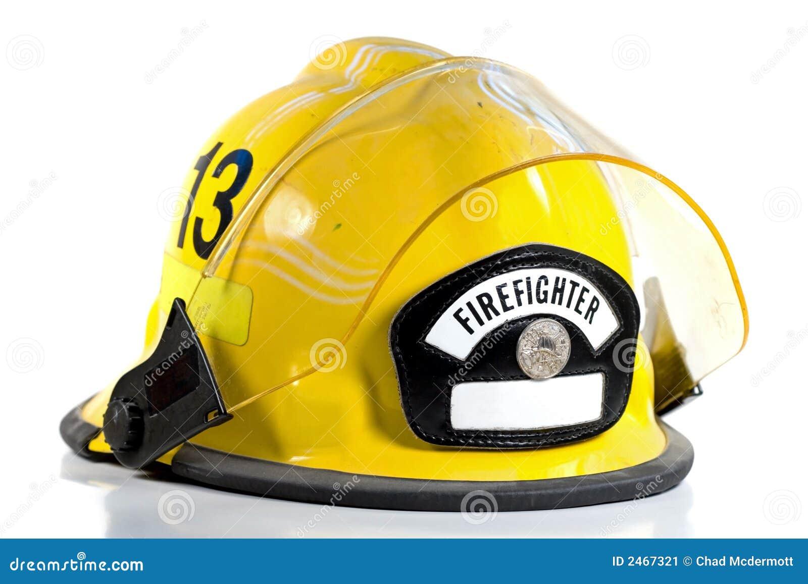 Hełm jest strażaka