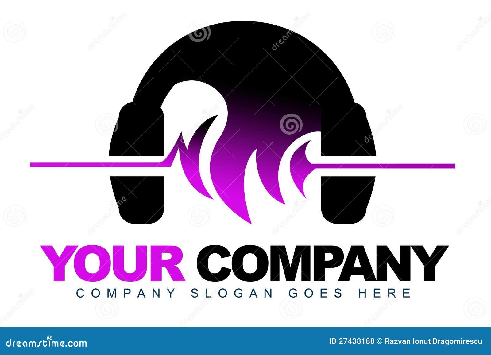 Hełmofonów Muzyki Logo