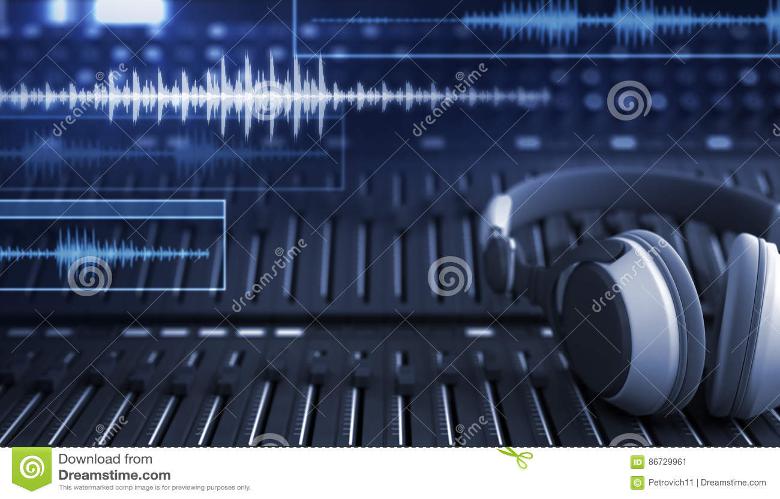 Hełmofony i audio ślada
