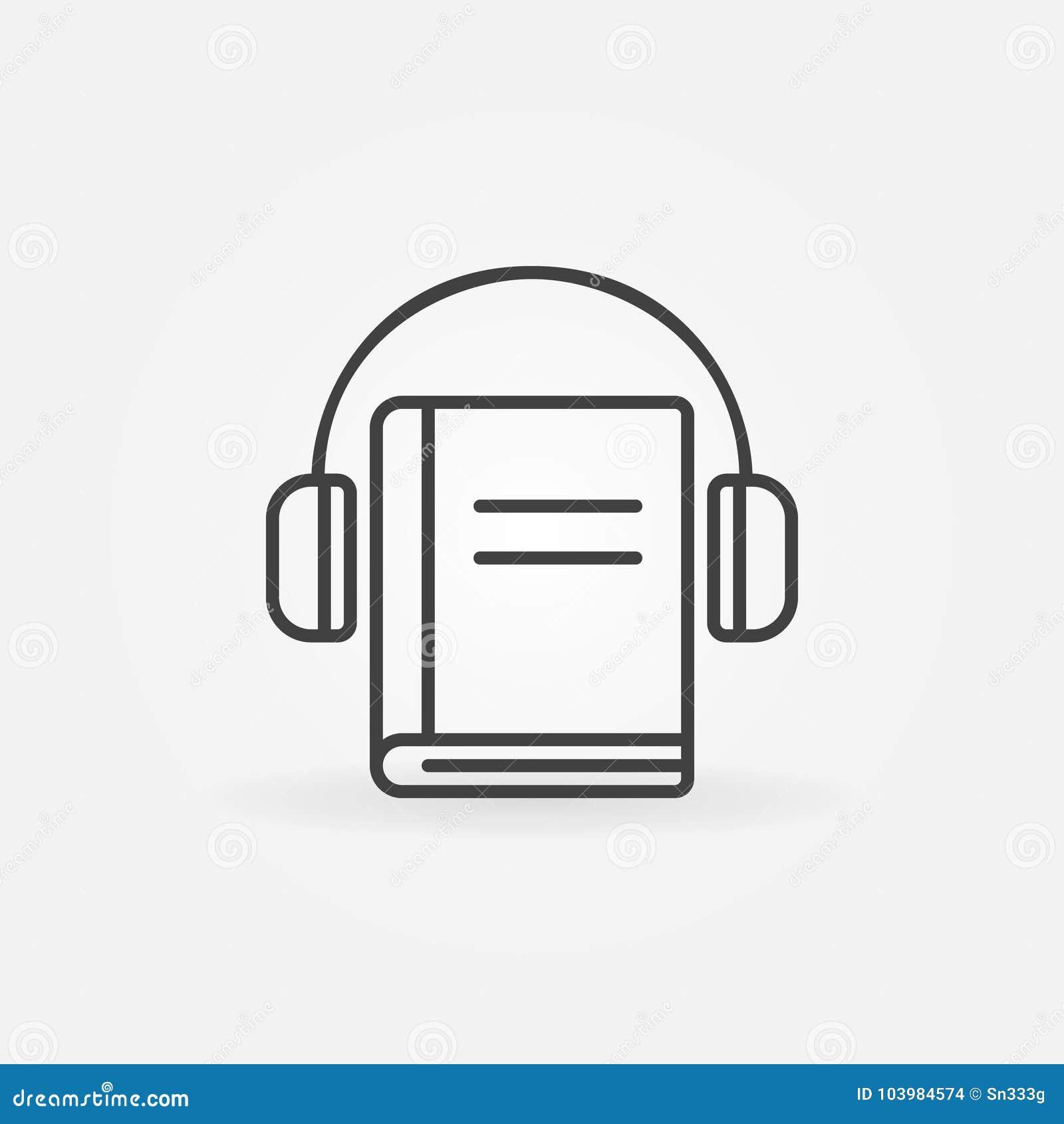 Hełmofony z książkową ikoną