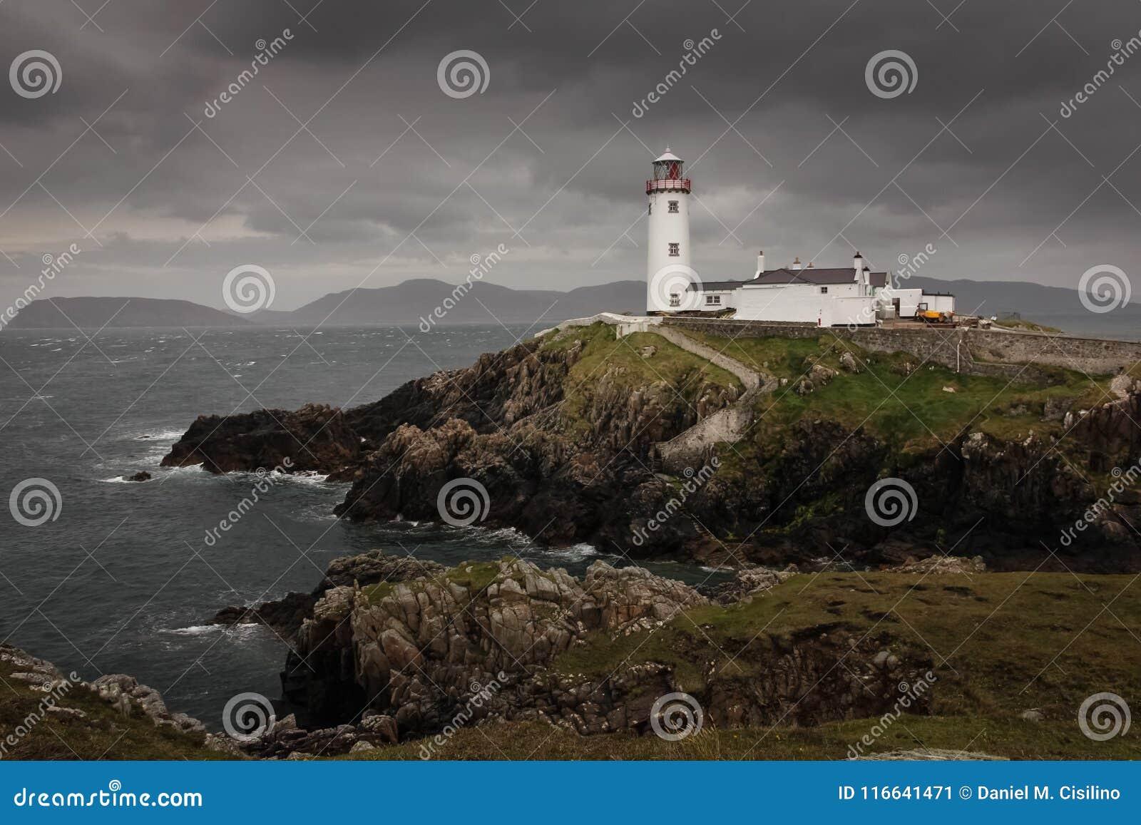 Head fyr för fanad Ståndsmässiga Donegal ireland
