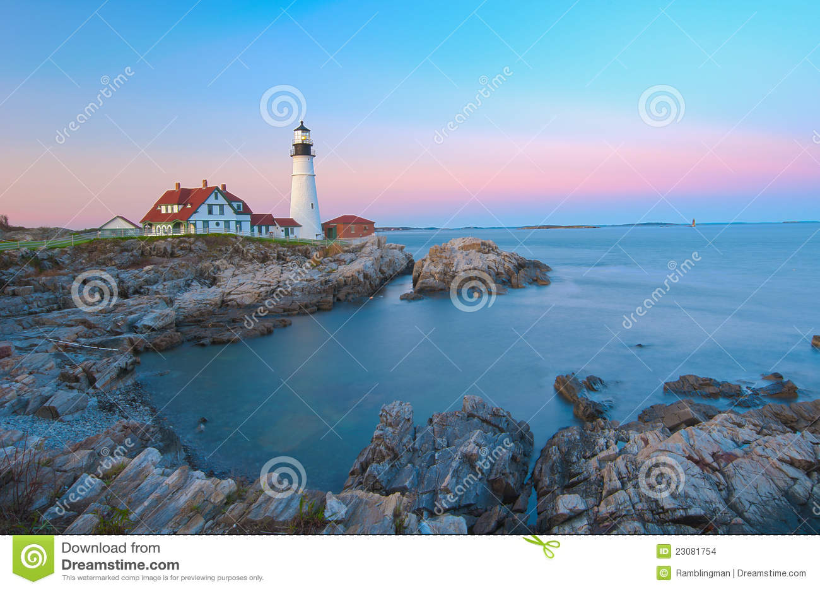 Head iconic ljus magical portland solnedgång