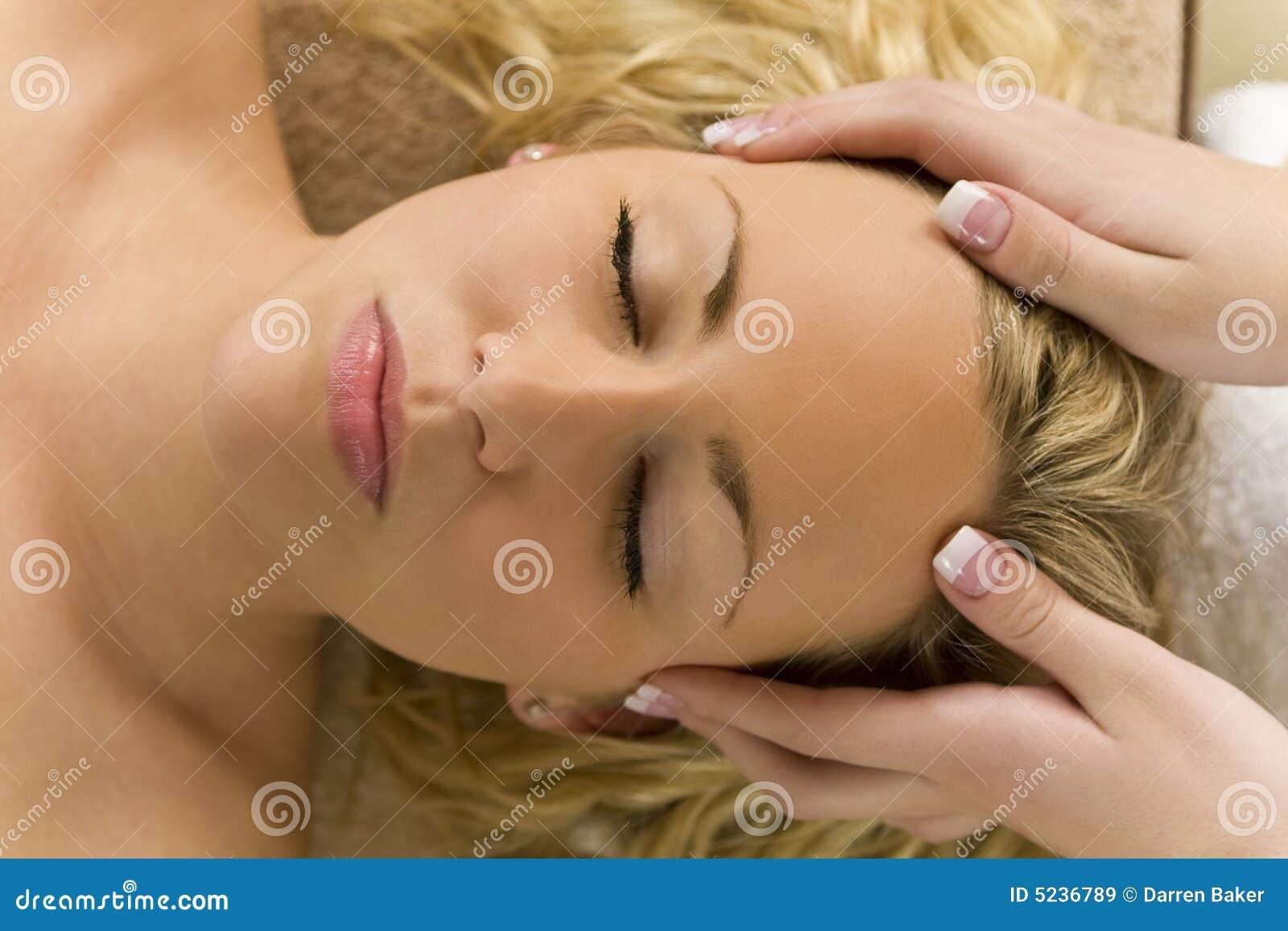 Head koppla av för massage