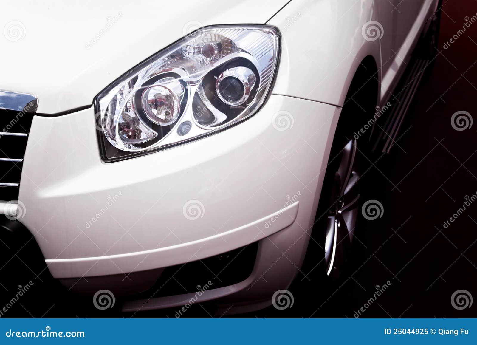 Head lampa för bil