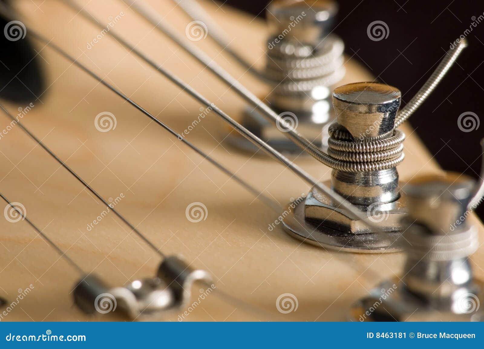Head materiel för gitarr