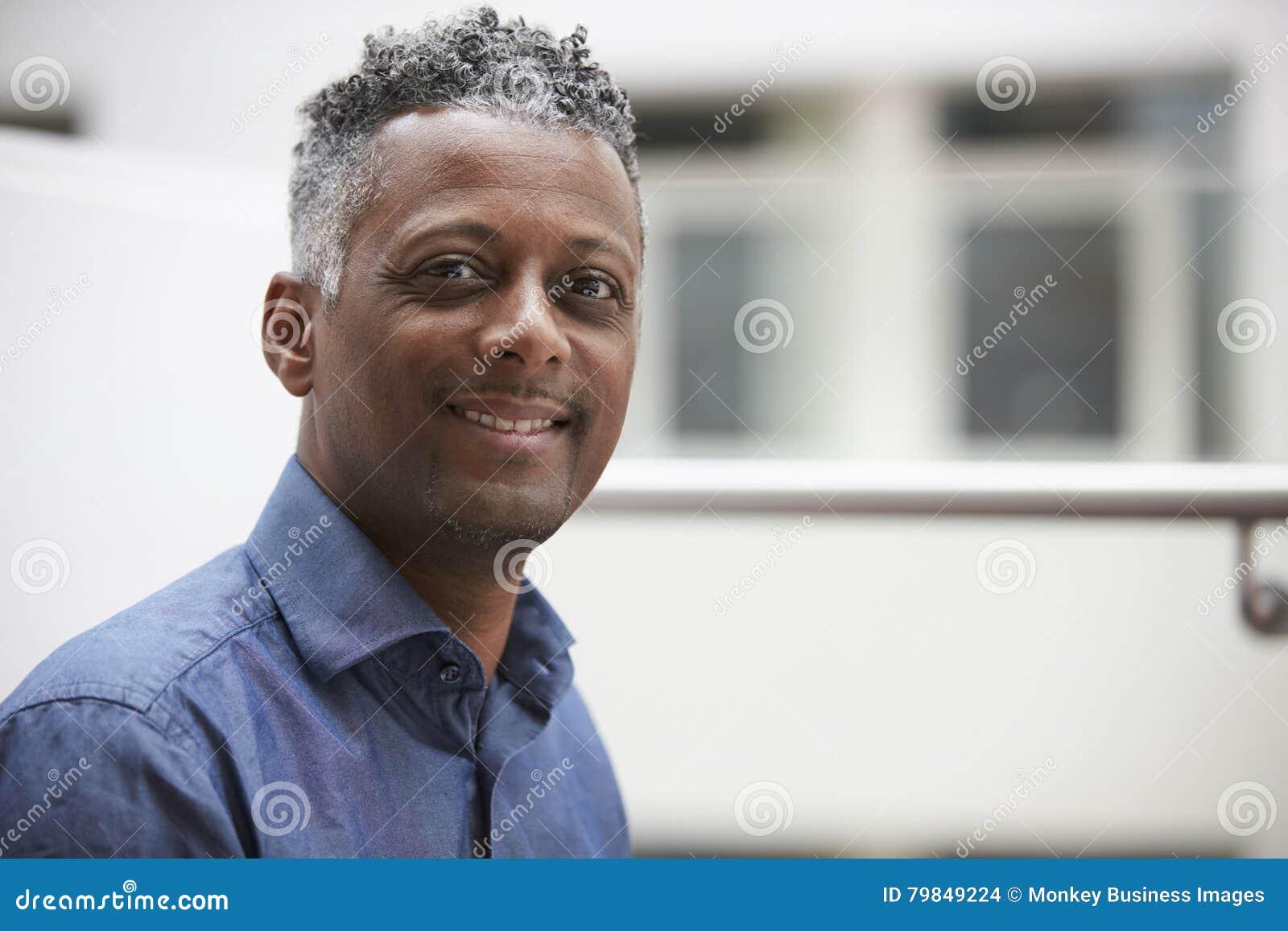 Middle aged black man