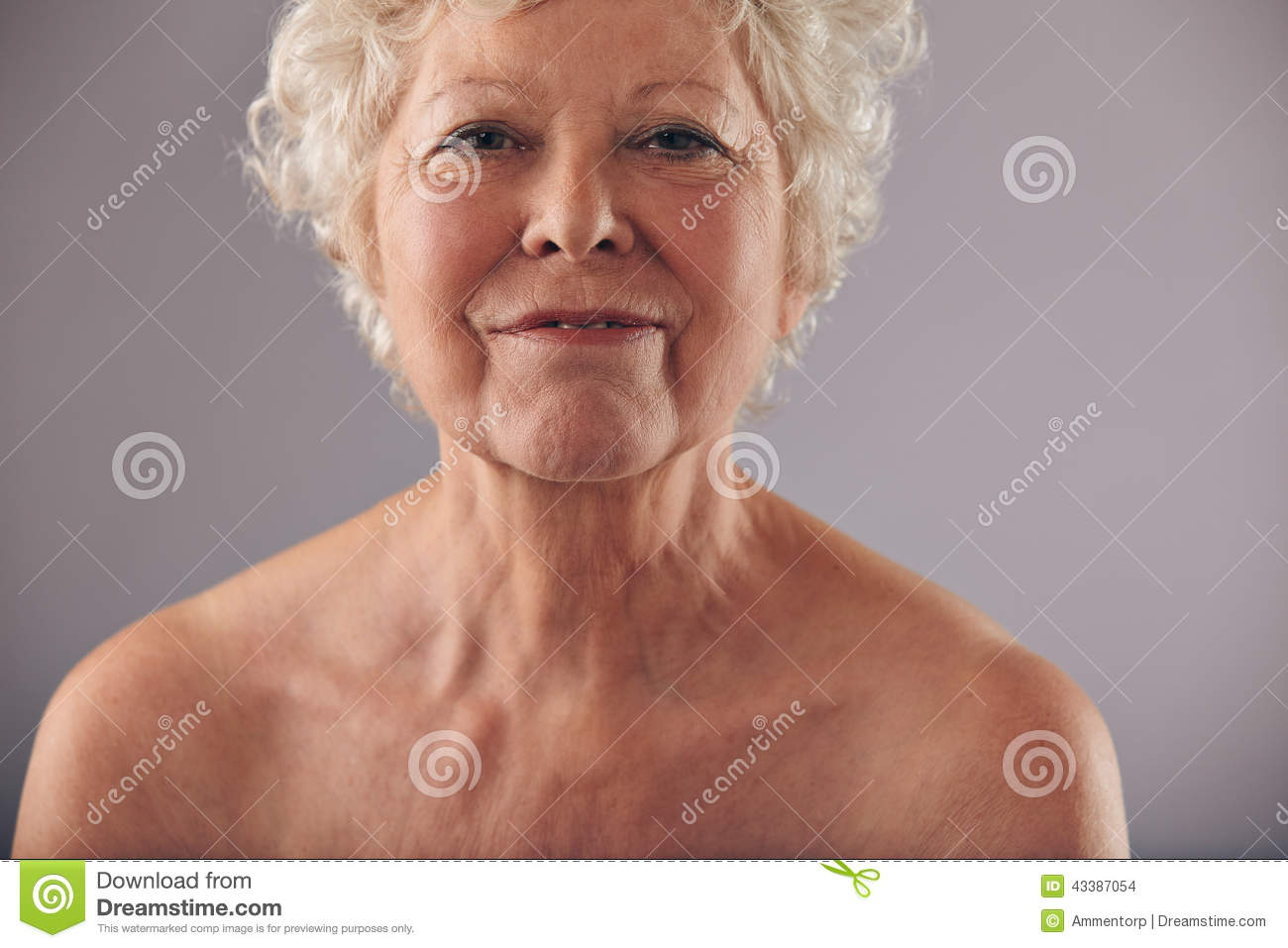 from Miles an elderly woman naked
