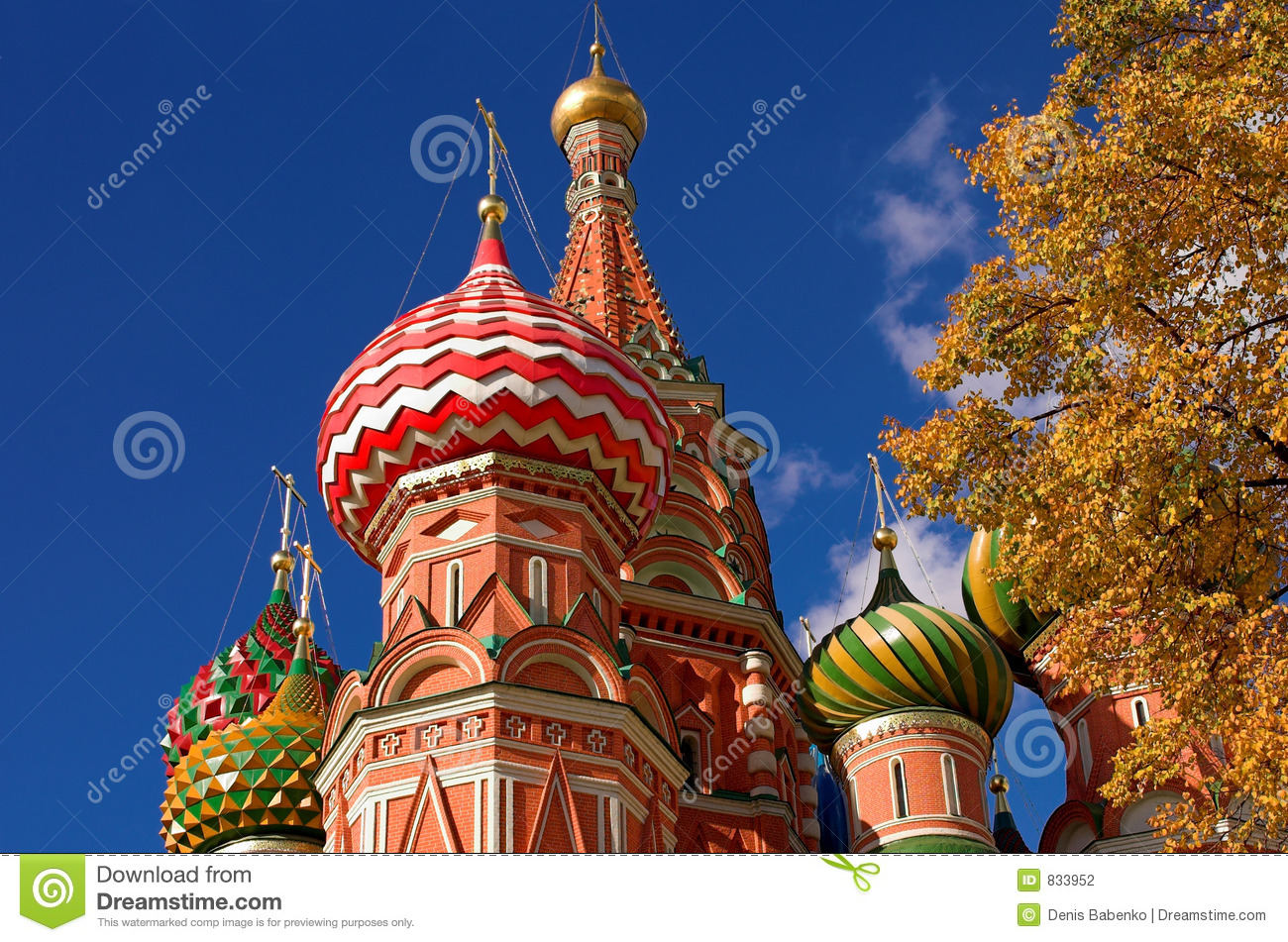 Head of St. Basil s Cathedral