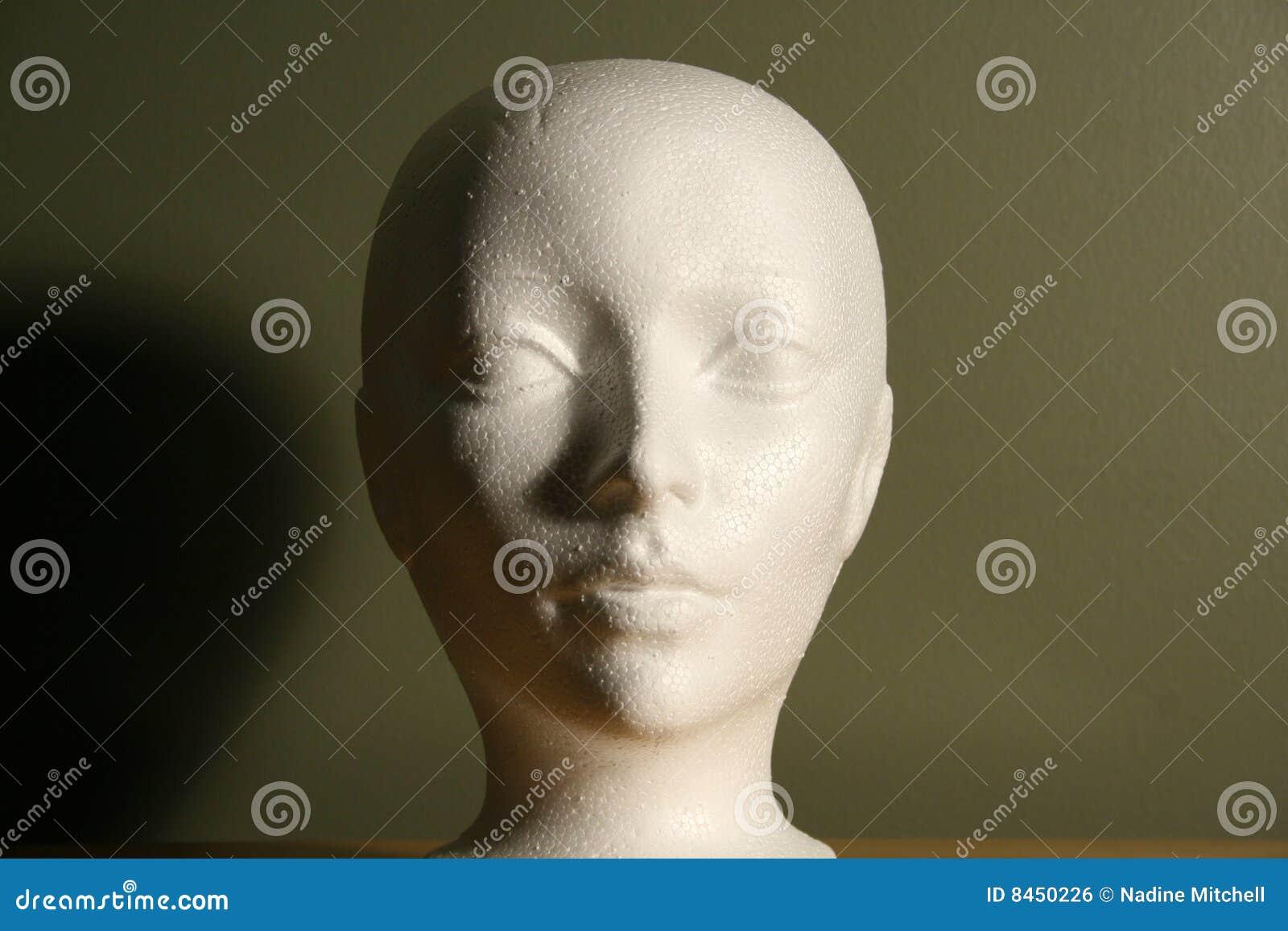 Head styrofoam