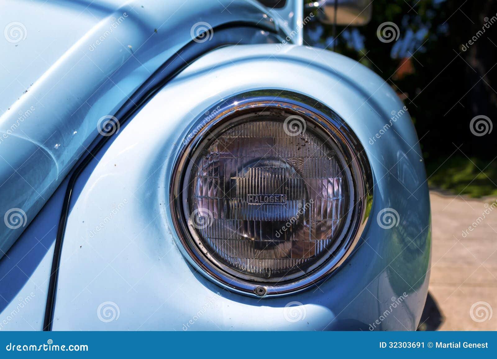 headlight stock image image 32303691. Black Bedroom Furniture Sets. Home Design Ideas