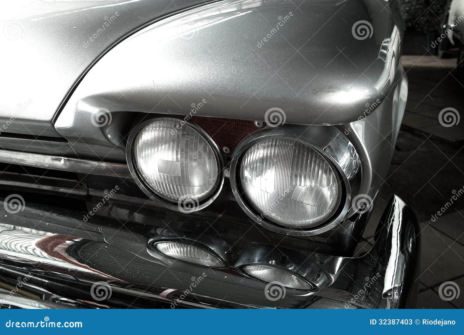 Old Car Headlight On Transparency : Old car stock photo cartoondealer