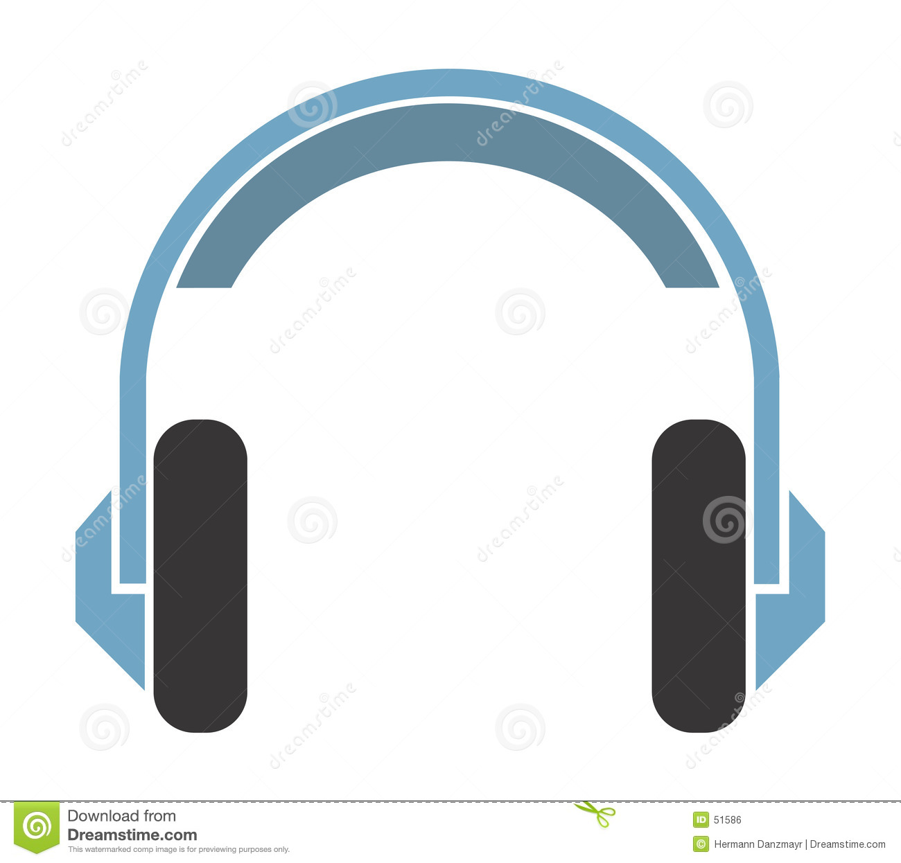 a headphone stock vector image of listen  vinyl  sound headphone icon vector free download headphone vector image free
