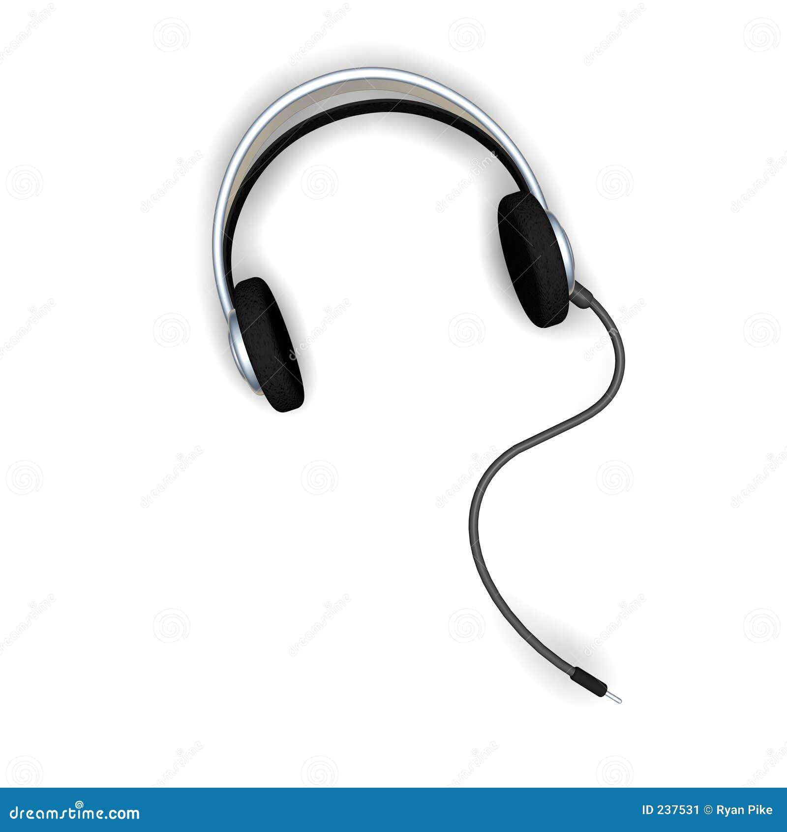 Excellent Headphone Wire Clip Art Contemporary