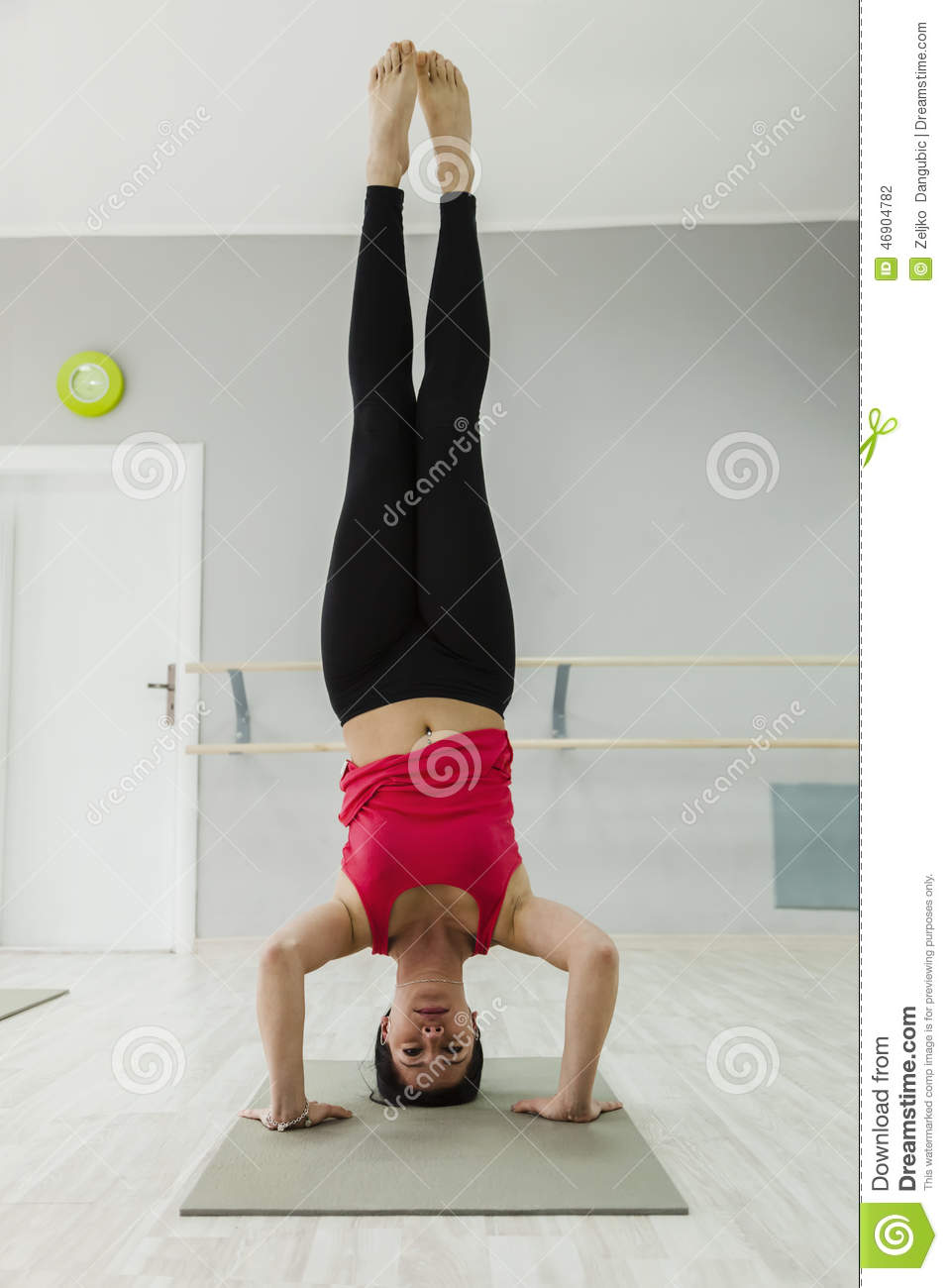 Headstand Stock Photo - Image: 46904782