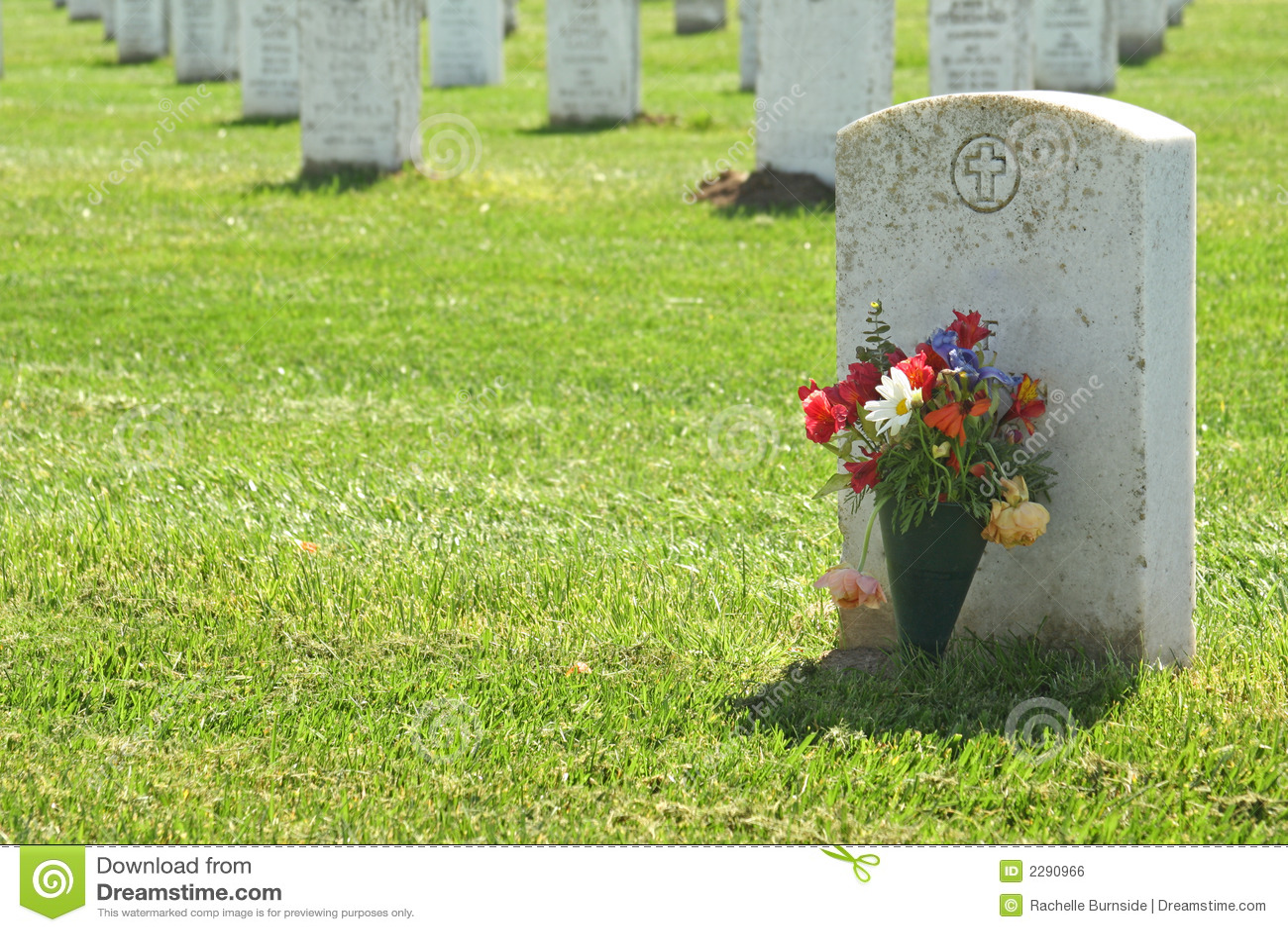 Headstone Royalty Free Stock Image Image 2290966