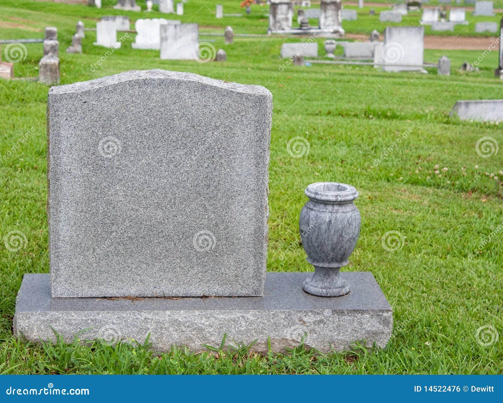 Headstone And Vase Royalty Free Stock Image Image 14522476