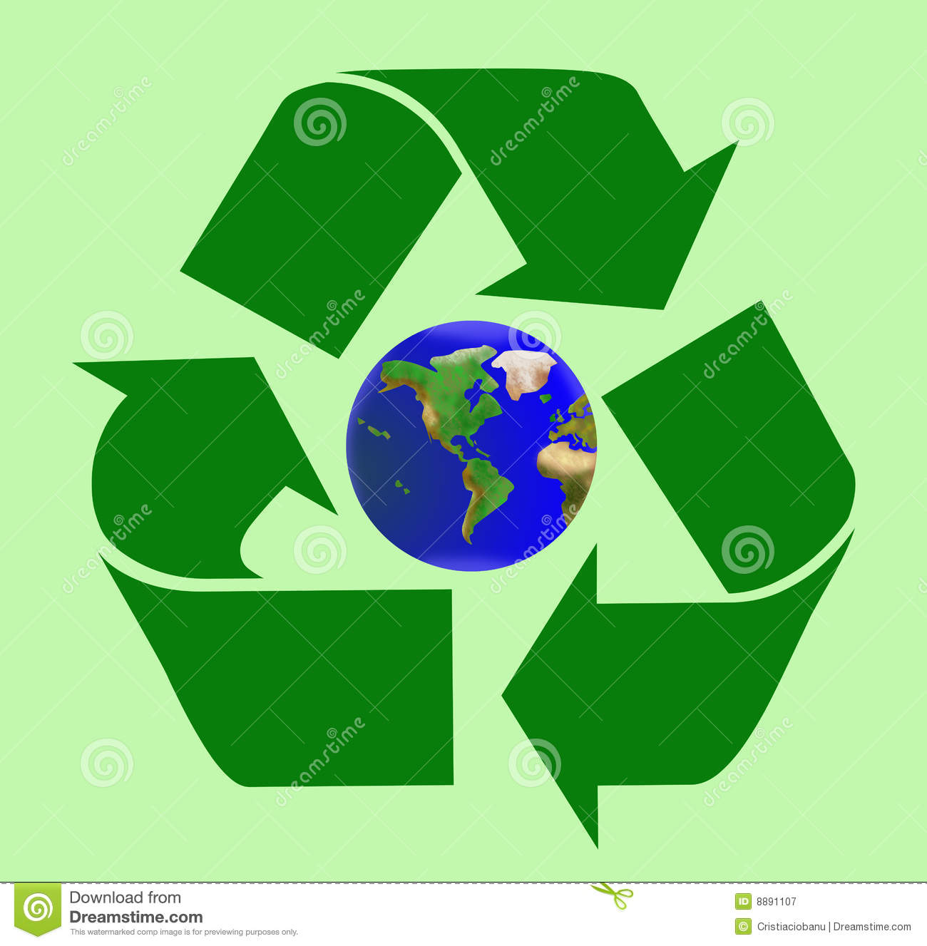 Heal the world by recycling