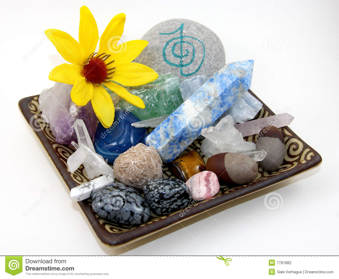 Healing Crystals Stock Photo Image Of Isolated Gems