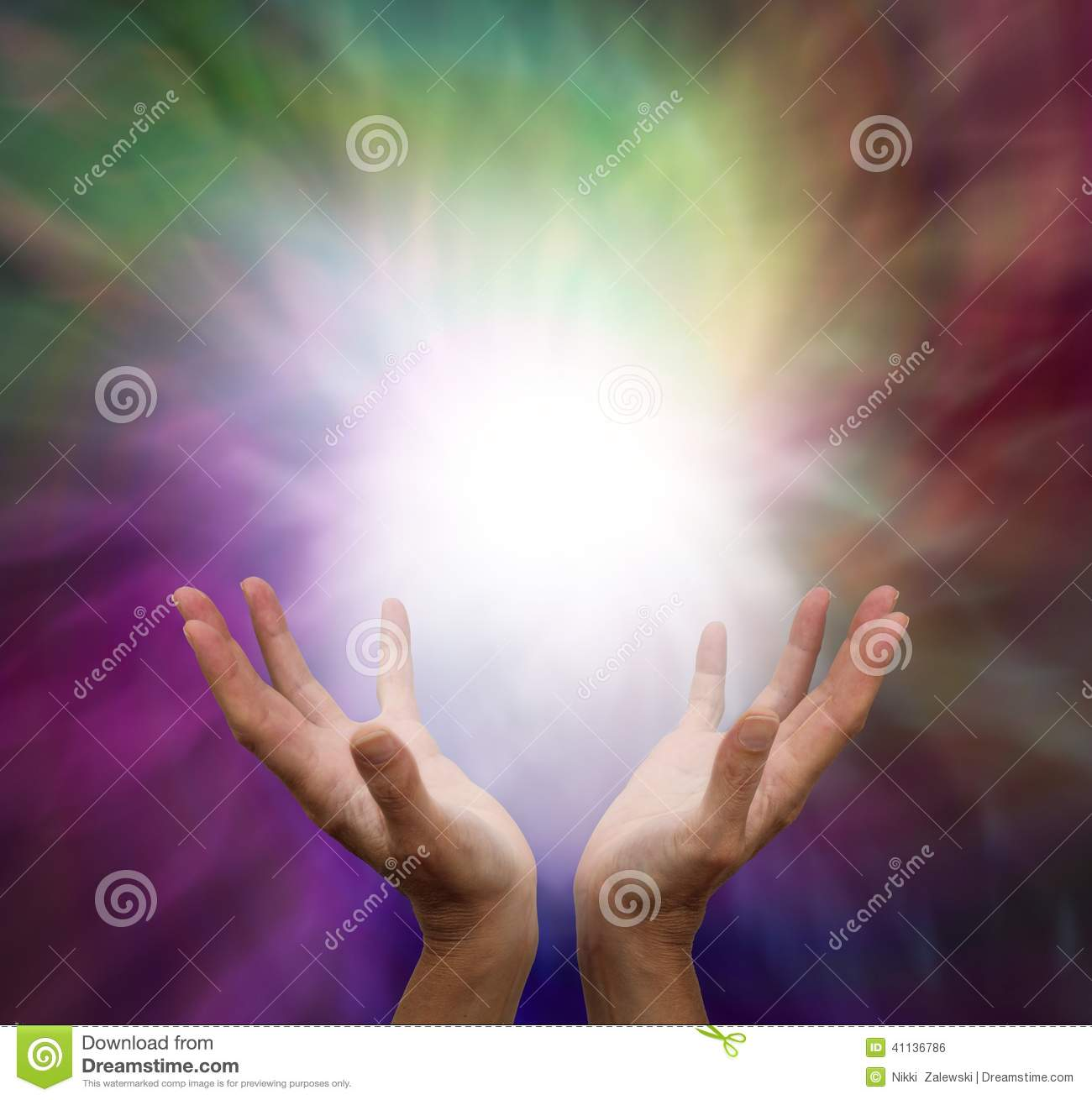 Healing hands and energy