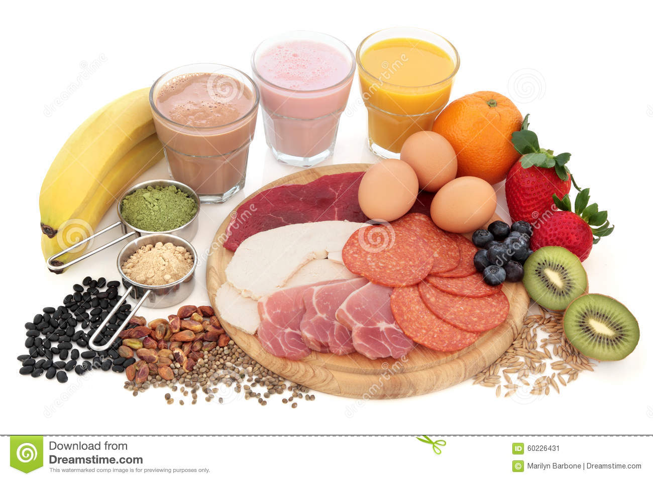 Health And Body Building Food Stock Photo - Image: 60226431
