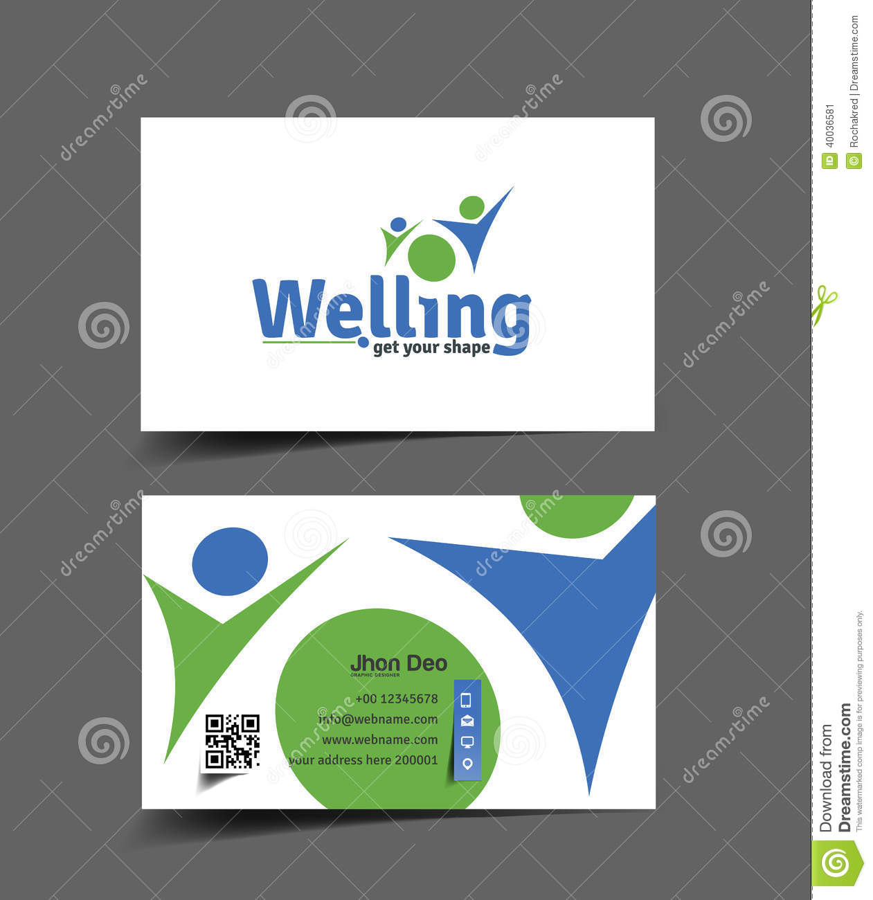 Health Care Business Card stock vector. Illustration of cardboard ...