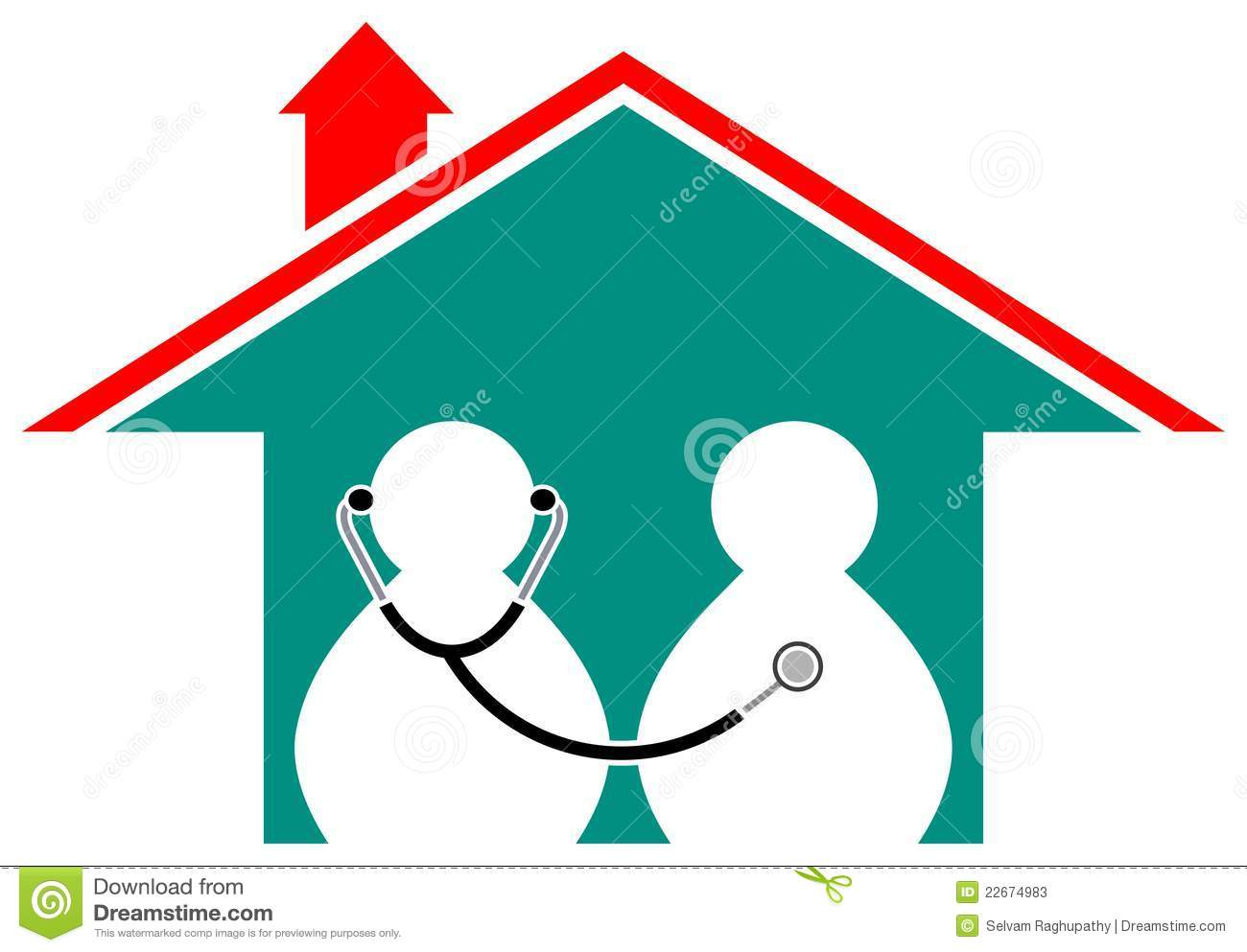 Health Care Home Stock Photos - Image: 22674983