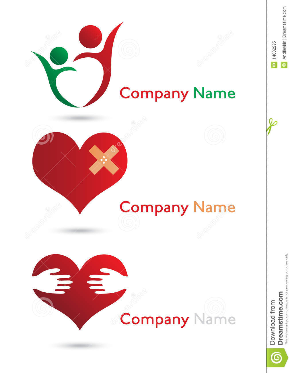 Health Care Logos Royalty Free Stock Photo - Image: 14002295
