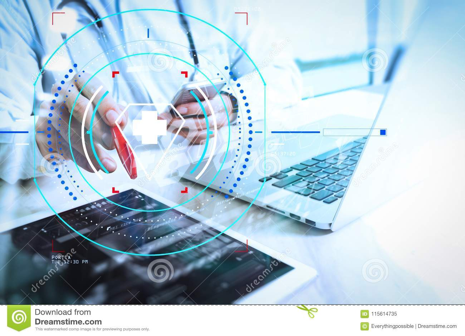health care medical services circular ar diagram medical technology concept doctor hand working modern digital 115614735 medical technology concept doctor hand working with modern digi