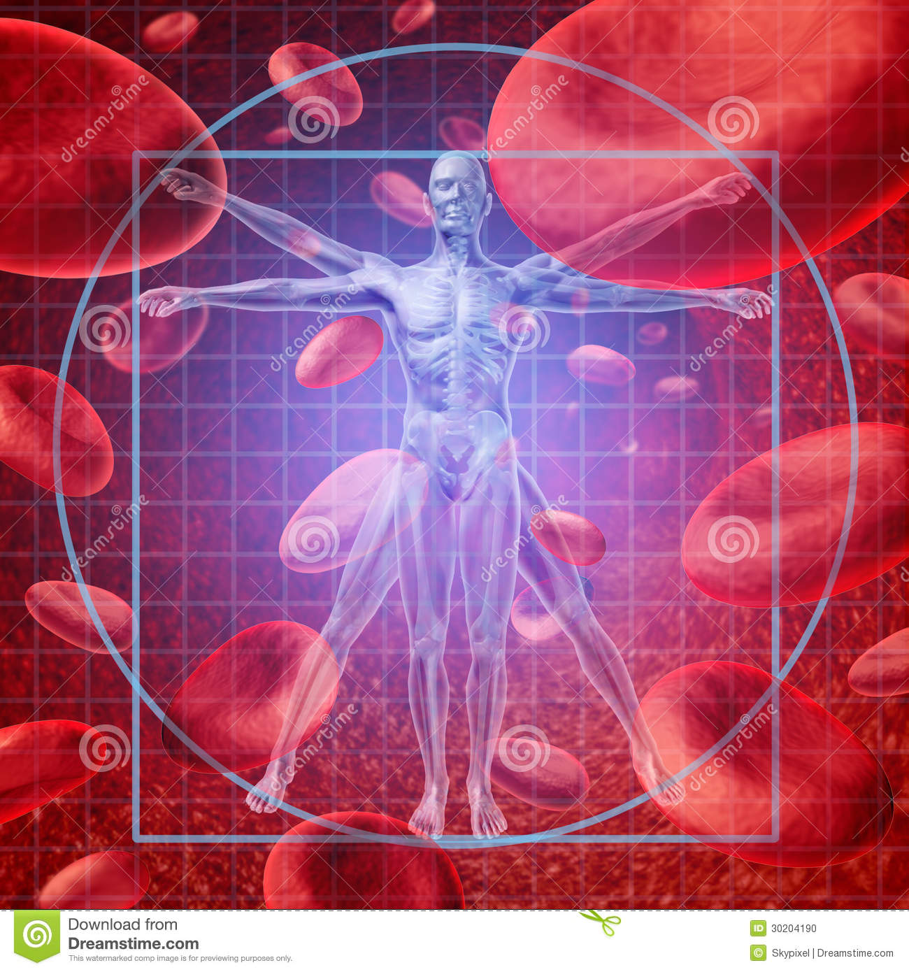 Health Care Research stock illustration. Image of ...