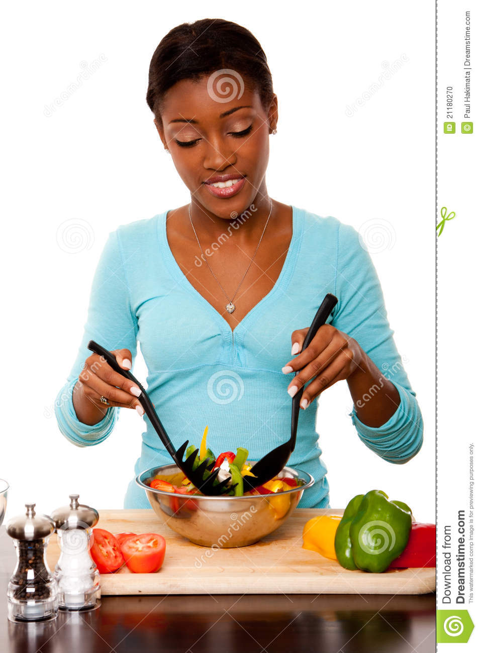 Health Conscious - Tossing Salad