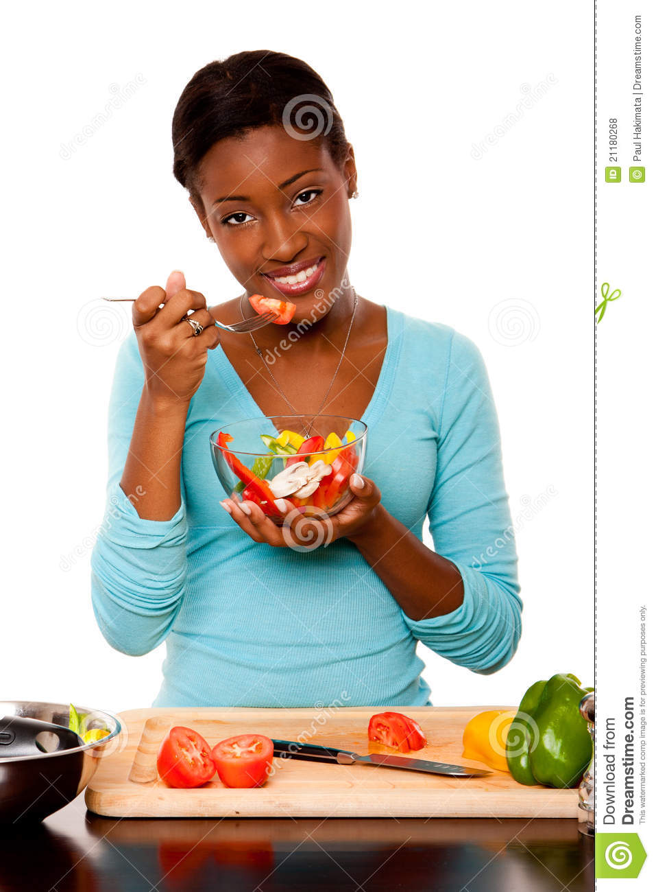 Health Conscious young woman