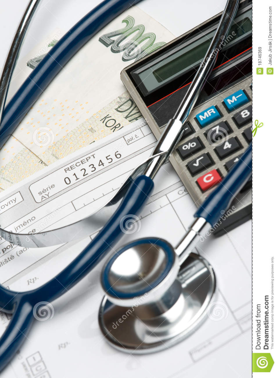 Health Financing Concept Stock Image Image Of Diagnostic 18746369