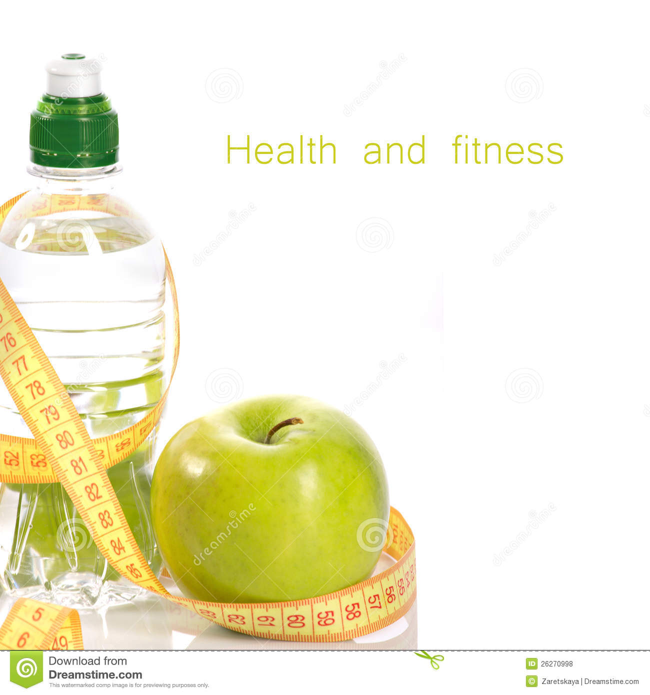 Health And Fitness Royalty Free Stock Photos - Image: 26270998