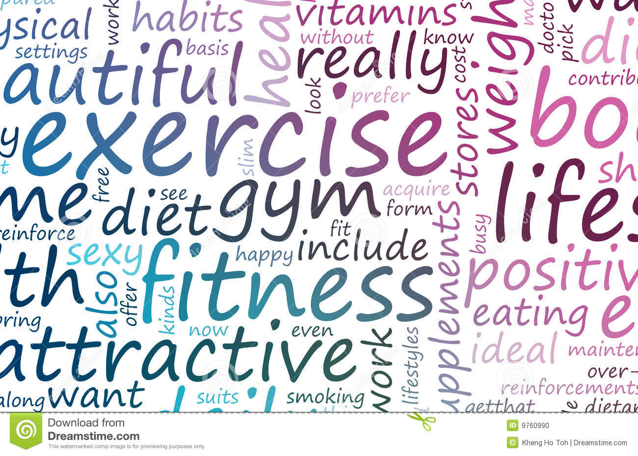 Health And Fitness Stock Photo - Image: 9760990