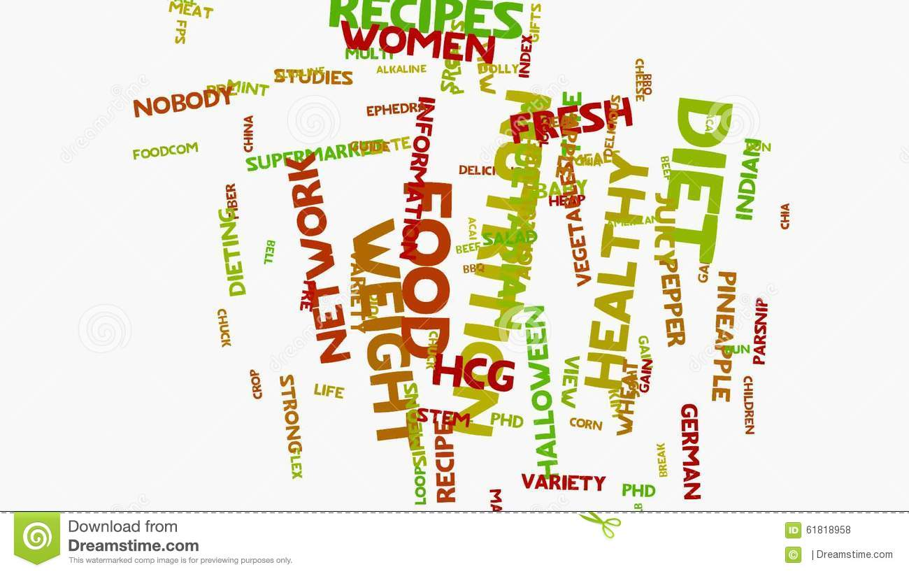 health food nutrition apple words on white healthy eating wordcloud