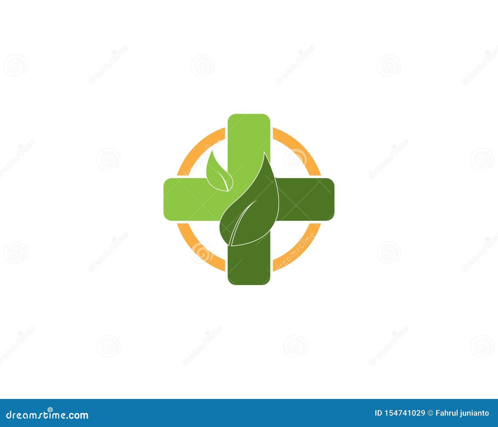 Health Medical Logo Template Vector Stock Vector