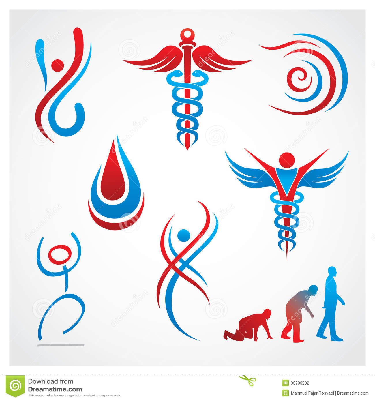 Health Medical Symbols Stock Photography - Image: 33783232