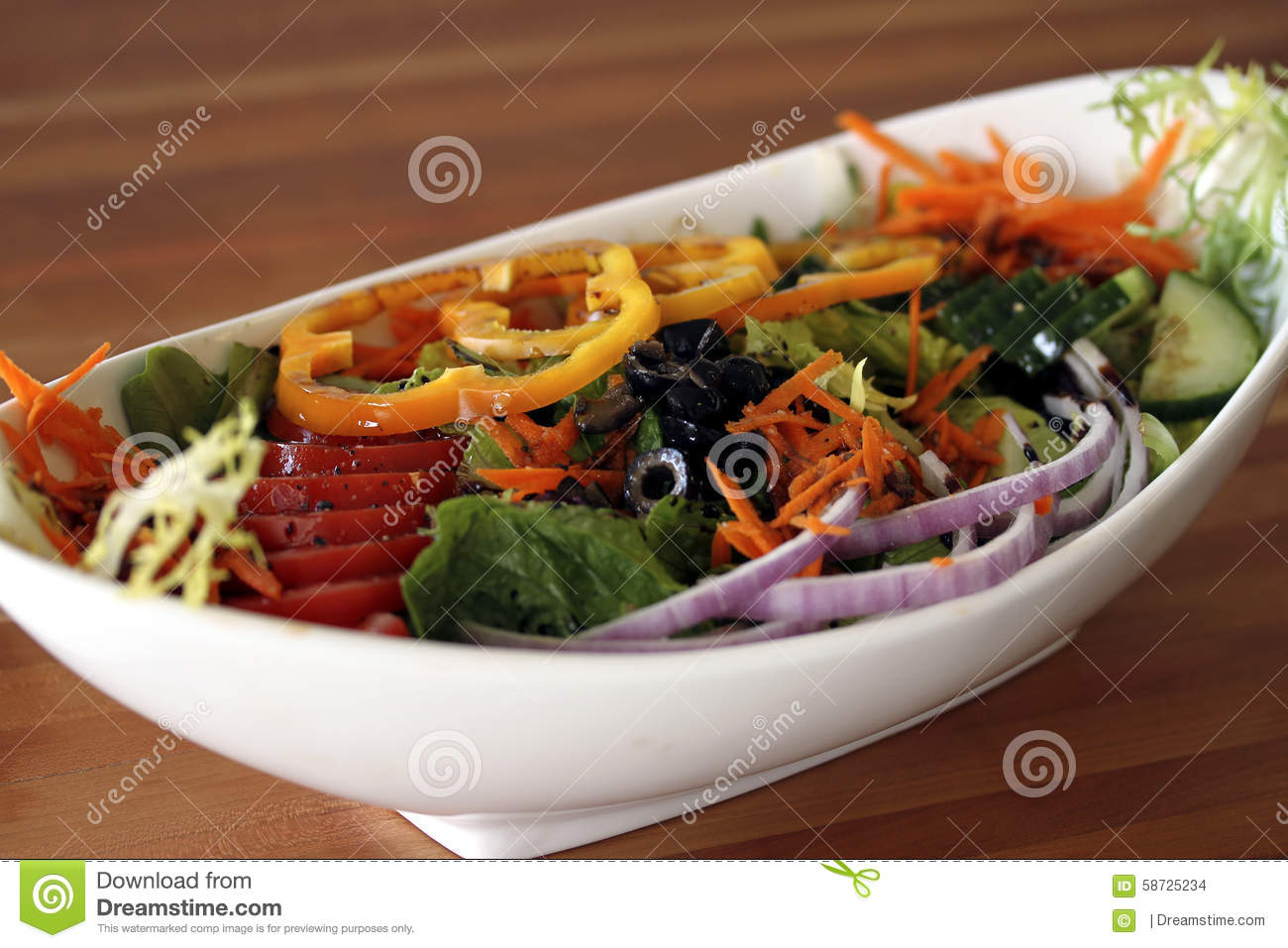 health salad display in bowl stock photo image of flight hand