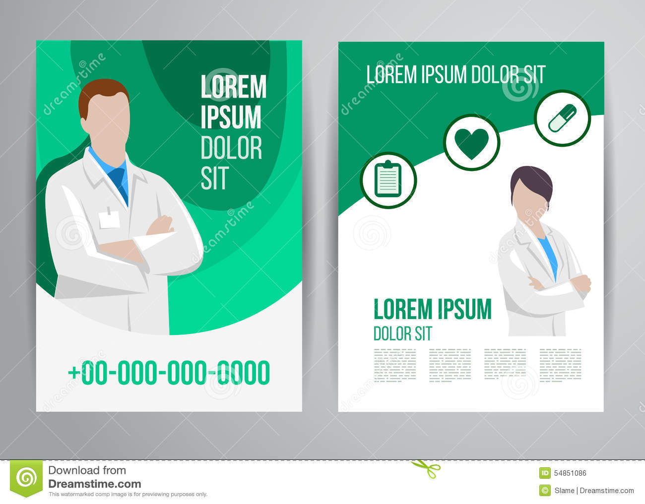 healthcare brochure business banner