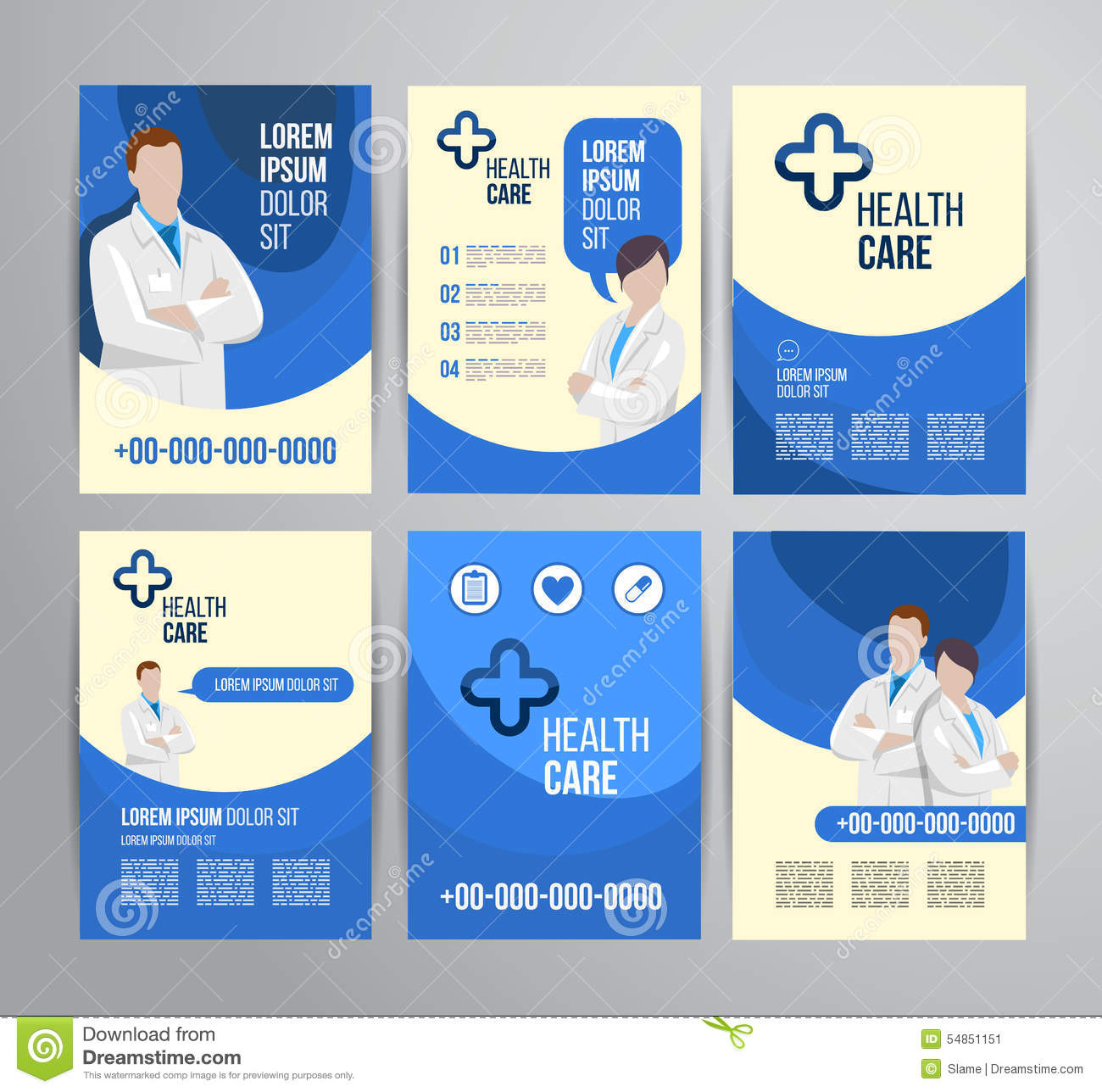 Healthcare Brochure Stock Photo Image 54851151