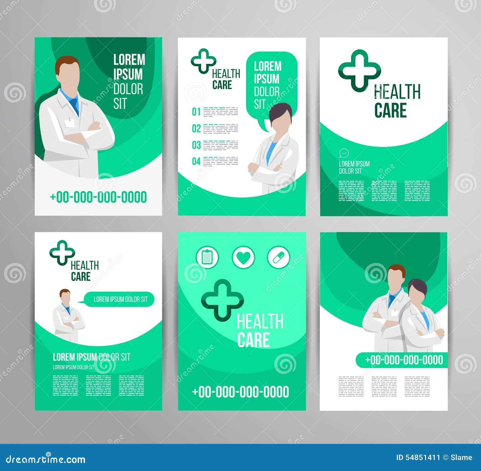 Healthcare Brochure Vector Image 54851411 – Healthcare Brochure