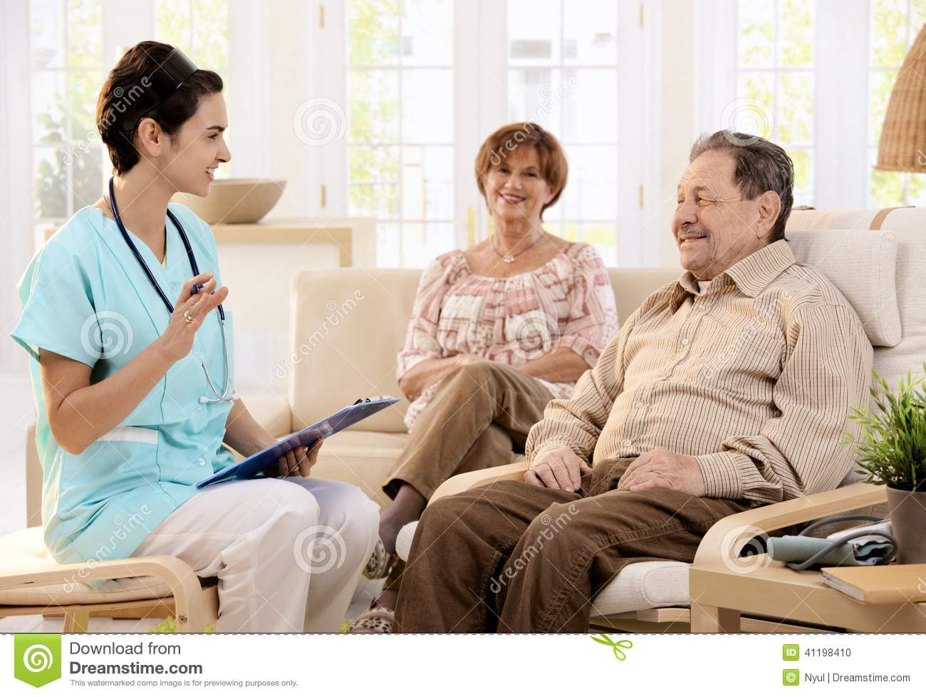 Healthcare At Home Stock Photo Image Of Elderly Care