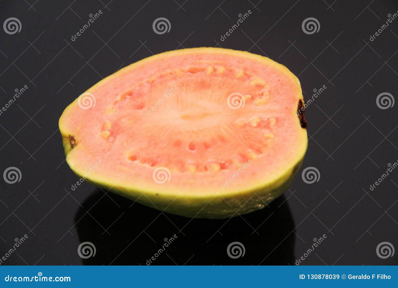 Healthful Sao Paulo Brazil för röd mat för guava läcker