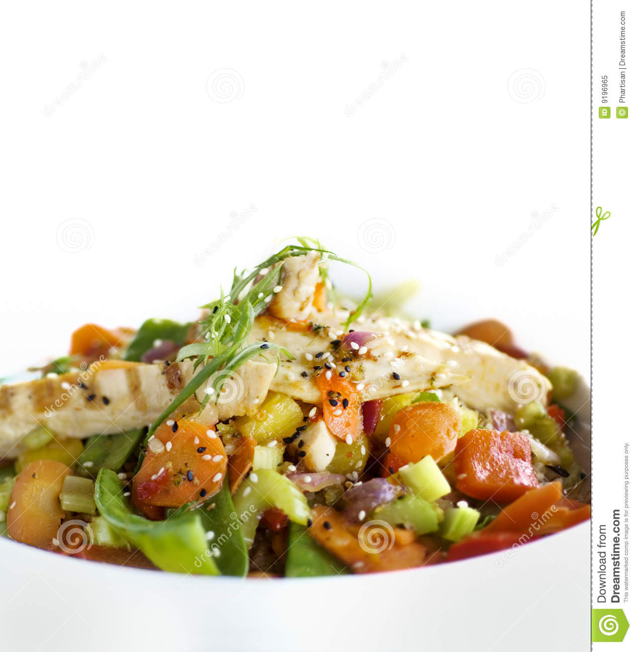 Healthy asian food stock image image of gourmet food for Asia asian cuisine