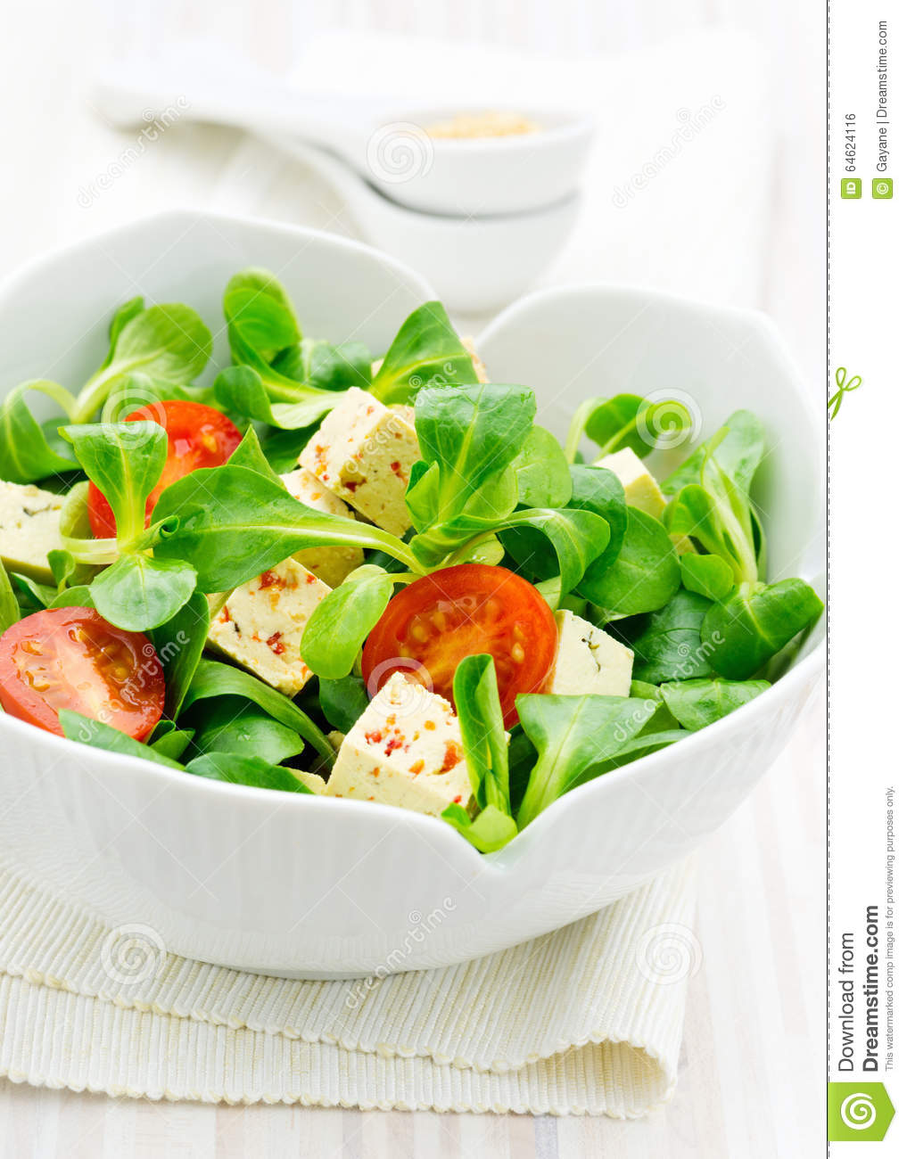 Healthy Asian style salad stock photo. Image of greens - 64624116