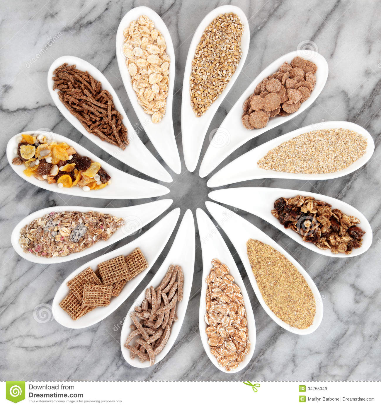 Healthy Breakfast Cereals Royalty Free Stock Images
