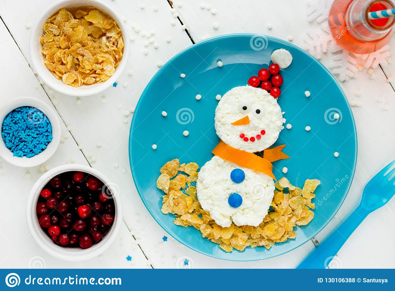 Enjoyable Healthy Breakfast Idea For Kids Christmas Snowman From Download Free Architecture Designs Grimeyleaguecom