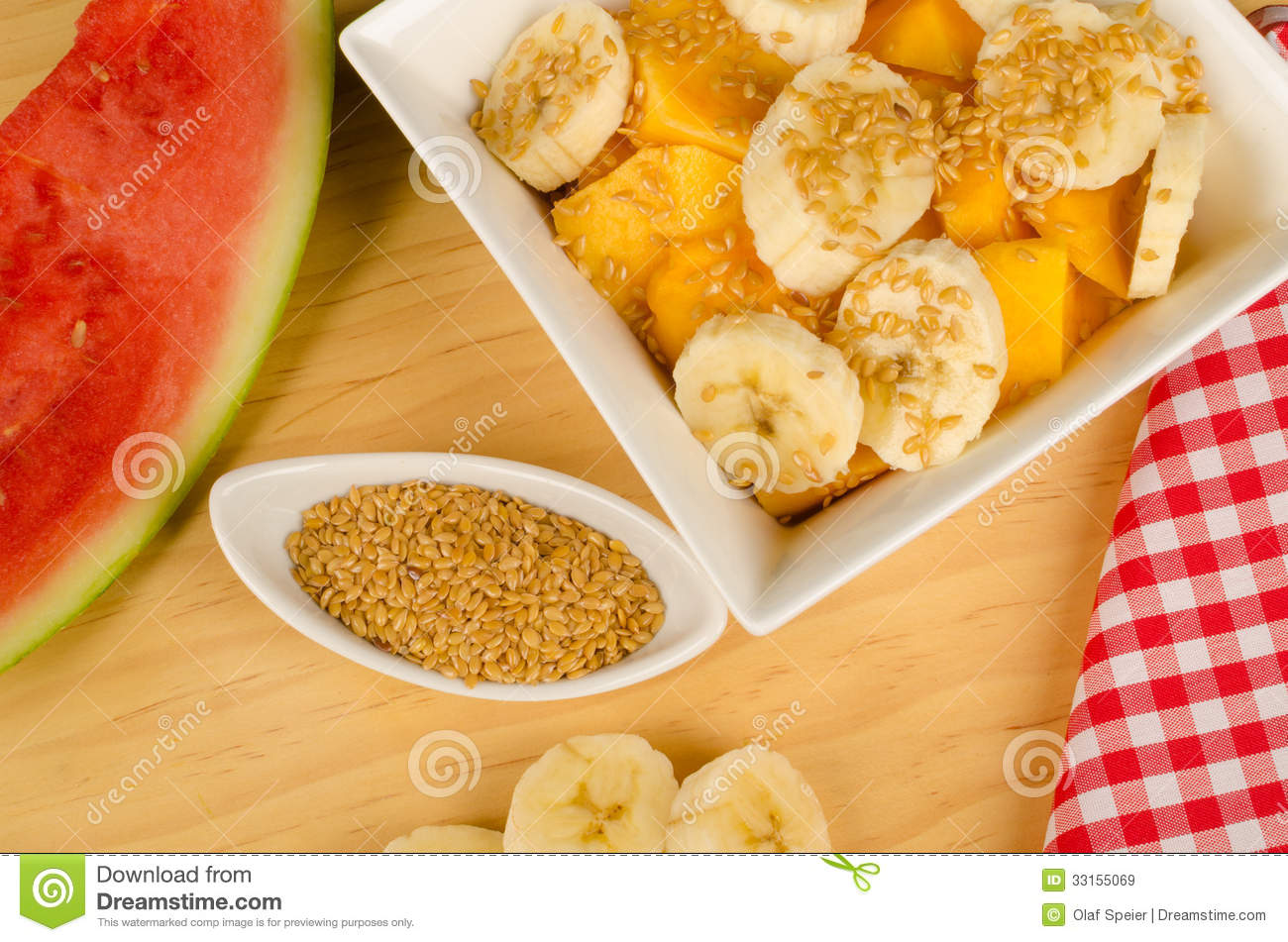 Healthy Breakfast With Linseed Royalty Free Stock Images ...